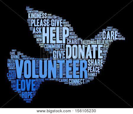 Volunteer Word Cloud