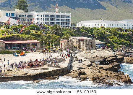 Crowds In Hermanus
