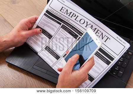 Searching For A New Job Or Employment
