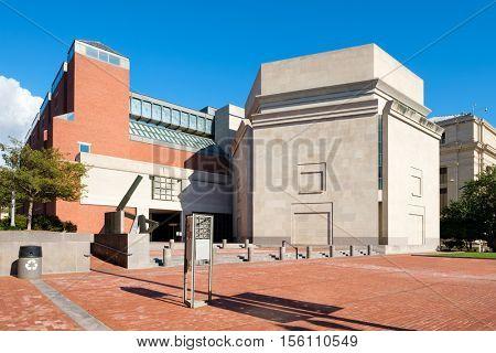 The United States Holocaust Memorial Museum in Washington D.C.