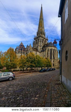 Saint Lazare Cathedral, In Autun