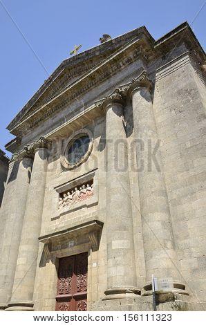 Chapel in Santiago de Compostela Galicia Spain.