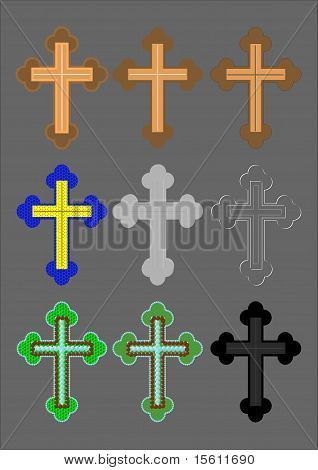 Cross with a different finish.