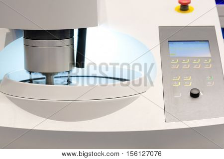The image of an automation metal work machine