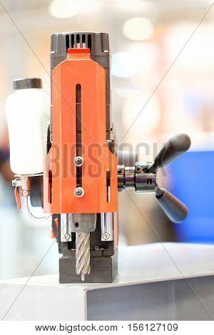 Drill of a boring machine