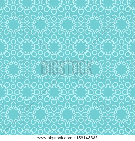 Delicate lace pattern. Ethnic background. Mandala. Stylized lace ornament. Retro ornament. Delicate light background for greeting cards, labels. Seamless pattern. Simple geometric background.
