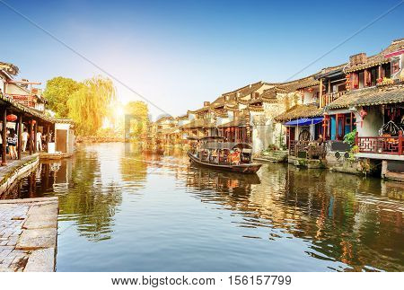 Xitang ancient town Xitang is first batch of Chinese historical and cultural town located in Zhejiang Province China.