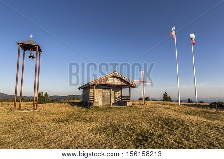 Saint Transfiguration Of Jesus Chapel In Bulgaria
