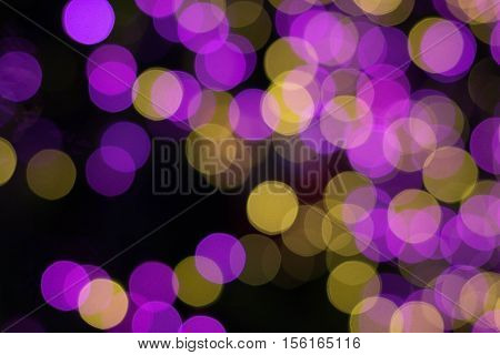 Abstract bokeh background. Christmas bokeh lights refocused blurred background.can be used bokeh background and everything.