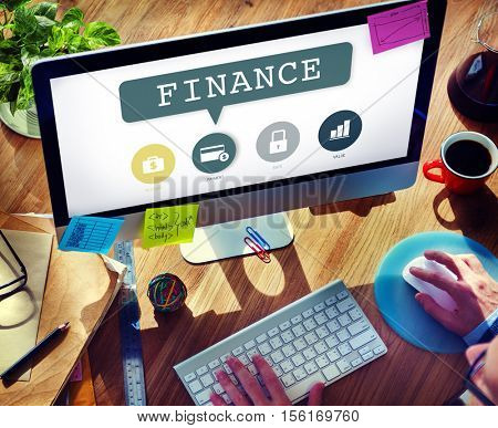 Accounting Banking Investment Budget Financial Concept