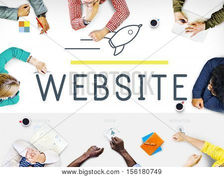 Web Design Internet Technology Concept