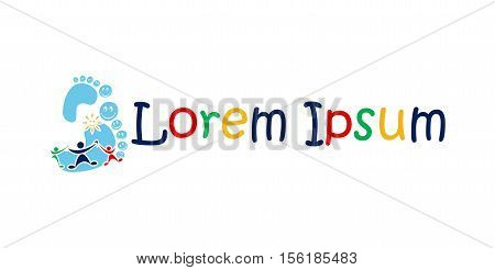 Icon for kindergartens, schools and orphanages logo