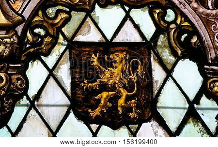 Coat Of Arms Of Brabant - Stained Glass