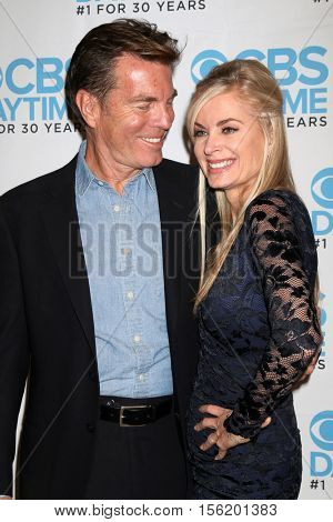 LOS ANGELES - NOV 10:  Peter Bergman, Eileen Davidson at the Young & Restless Celebrate CBS 30 Years at #1 at Paley Center For Media on November 10, 2016 in Beverly Hills, CA