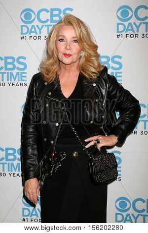 LOS ANGELES - NOV 10:  Melody Thomas Scott at the Young & Restless Celebrate CBS 30 Years at #1 at Paley Center For Media on November 10, 2016 in Beverly Hills, CA