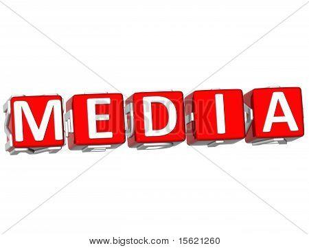 Media Cube Text