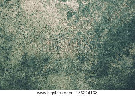 Closeup Of Rough Green Grunge Textured Background, Grunge Texture