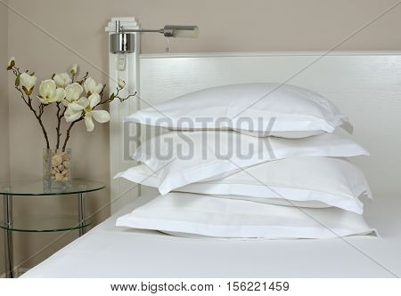 Pile Of Sleeping Pillows