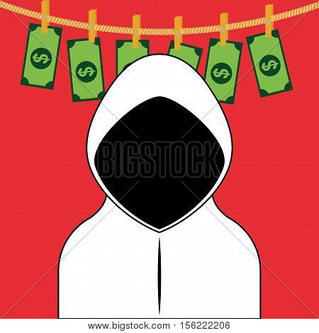 Counterfeiter money icon vector illustration graphic design icon vector illustration graphic design