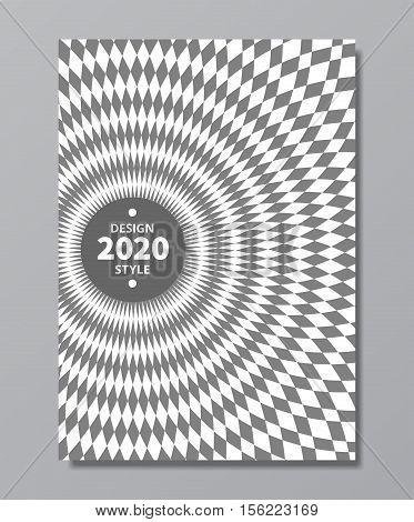 vortex swirl rotary vector background. swirl poster design in retro trendy style