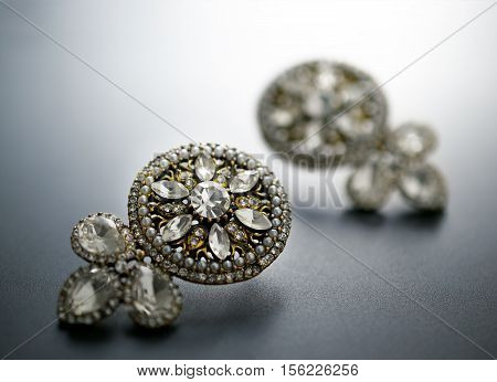 Diamond, Antique And Vintage Earrings, Antique Jewellery