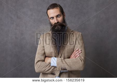 Goofy Businessman
