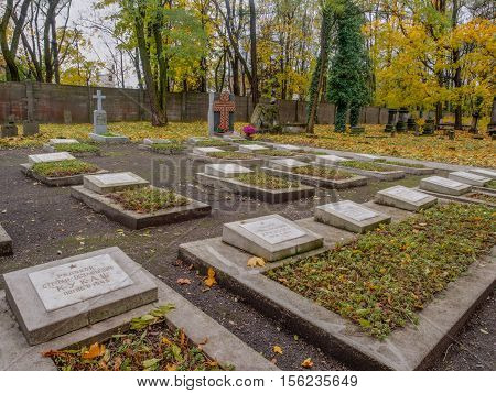 Graves Of The Russian Builders