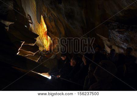 Giant Shawl Jenolan Caves Blue Mountains New South Wales Australia