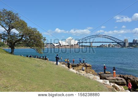 People Visiting In Sydney Australia