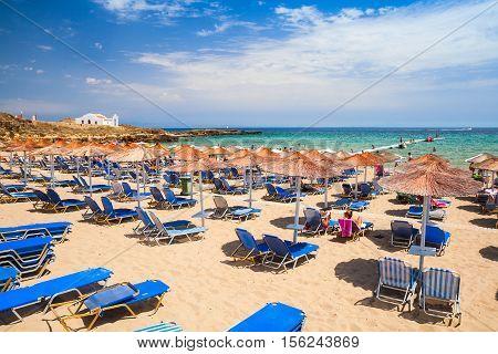 Beach In Vassilikos, Zakynthos, Greece