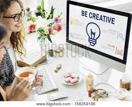 Creative Brainstorming Discussion Proposal Concept