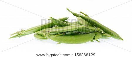 string bean isolated on a white background