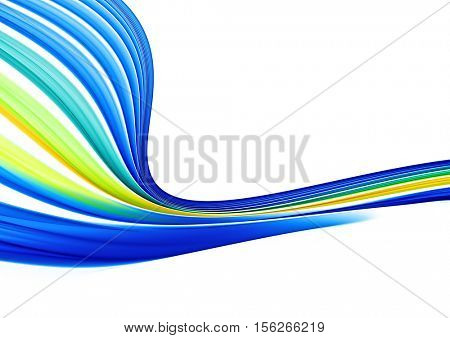 abstract blue yellow green background texture