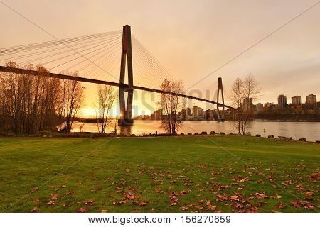Skybridge Between New Westminster And Surrey