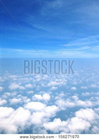 Cloudscape Atmosphere Ozone Beautiful Weather Concept