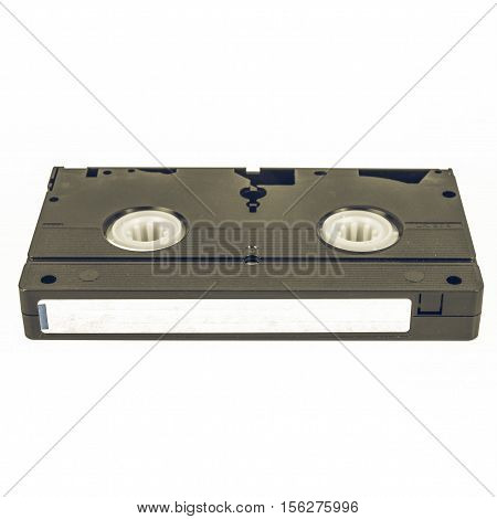 Vintage Looking Vhs Tape Cassette