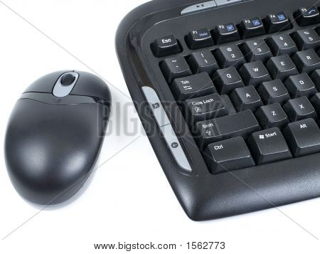 Wireless Mouse & Keyboard
