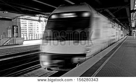 Sydney Trains Engin At Circular Quay Station Sydney Australia