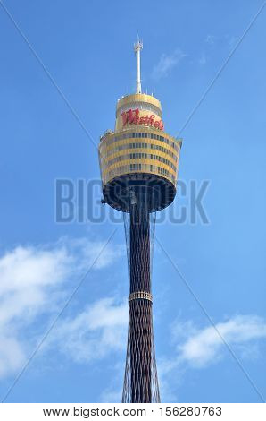 Sydney Tower Sydney New South Wales Australia