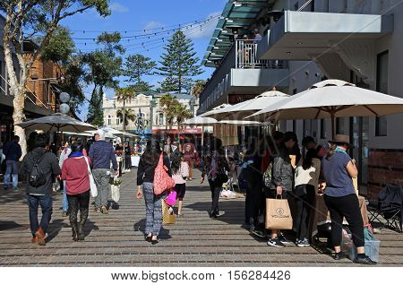 Visitors In Manly Sydney New South Wales Australia