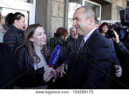 Presidential Candidate Rumen Radev