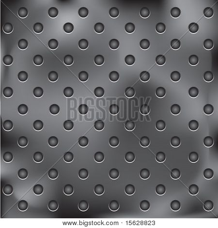 Metal Plate With Holes