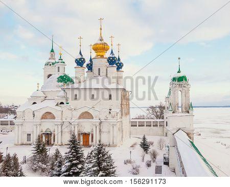 Gold ring of Russia. Savior-Yakovlev Dimitriev Monastery in Rostov Veliky