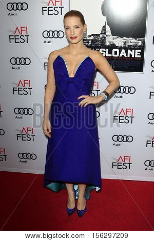 LOS ANGELES - NOV 11:  Jessica Chastain at the