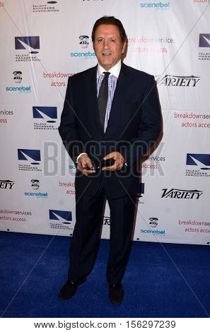 LOS ANGELES - NOV 10:  Frank Stallone at the 2016 TMA Heller Awards at Beverly Hilton Hotel on November 10, 2016 in Beverly Hills, CA