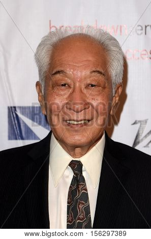 LOS ANGELES - NOV 10:  Michael Yama at the 2016 TMA Heller Awards at Beverly Hilton Hotel on November 10, 2016 in Beverly Hills, CA