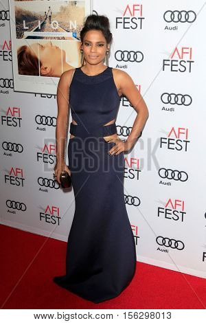 LOS ANGELES - NOV 11:  Priyanka Bose at the LION AFI Fest Premiere at TCL Chinese 6 Theaters on November 11, 2016 in Los Angeles, CA
