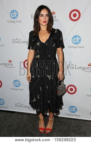 LOS ANGELES - NOV 10:  Ana de la Reguera at the 5th Annual Eva Longoria Foundation Dinner at Four Seasons Beverly Hills  on November 10, 2016 in Beverly Hills, CA