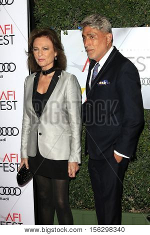 LOS ANGELES - NOV 10:  Jacqueline Bisset, guest at the AFI FEST 2016 - Opening Night - Premiere Of 20th Century Fox's 'Rules Don't Apply' at TCL Chinese Theater on November 10, 2016 in Los Angeles, CA
