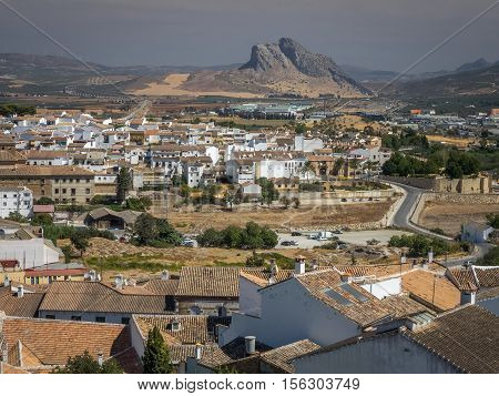 The historic town of Antequera Andalucia Spain